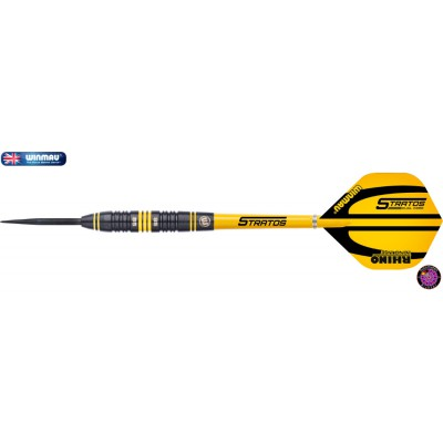 Steel Dartpfeil Set - Winmau Stratos Dual Core