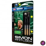 "Steel Dartpfeil Set - Winmau Simon Whitlock ""The Wizard"" Gold 2014"