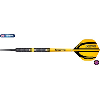 Soft Dartpfeil Set - Winmau Stratos Dual Core