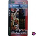 """Soft Dartpfeil Set - Winmau World Champion Mark """"Spiderman"""" Webster"""