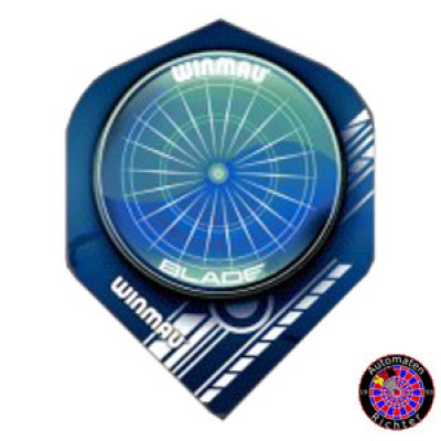Winmau Mega Standard Flight - Blade Blue