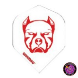 Winmau Mega Standard Flight - Pitbull White