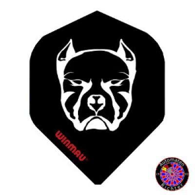 Winmau Mega Standard Flight - Pitbull Black