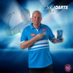 Steel Dartpfeil Set - XQ Max Darts Messing Vincent van der Voort