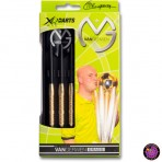 Soft Dartpfeil Set - XQ Max Darts Messing Michael van Gerwen Original