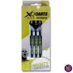 "Steel Dartpfeil Set - XQ Max Darts Michael van Gerwen ""Mighty Generation"" 90% Tungsten"